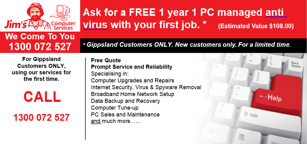 Free Managed Anti Virus Offer Front Page 2