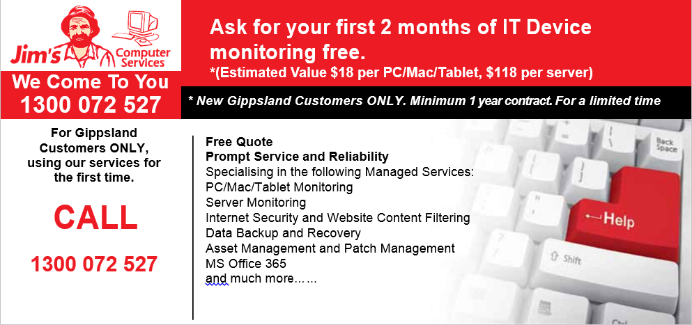Free Monitoring Offer Front Page 2